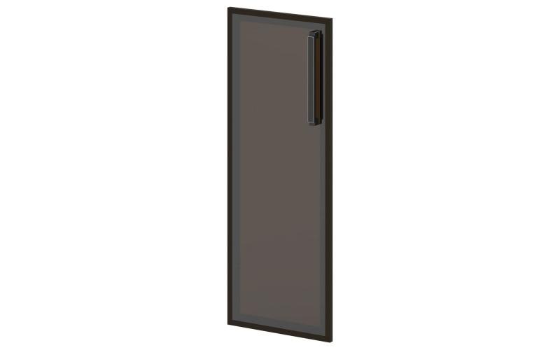 L-028 Дверь средняя. Стекло в алюминиевом профиле (444х20х1194)
