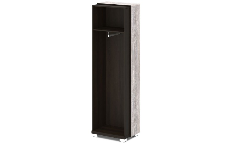 L-56к Каркас шкафа для одежды крайний (614х440х2049)