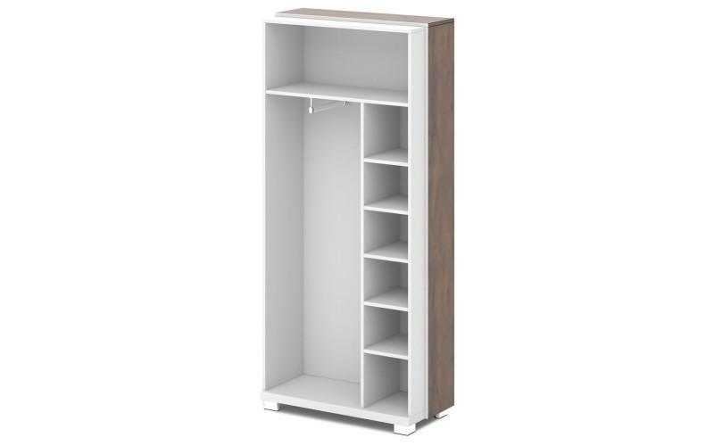 L-72 Каркас шкафа для одежды отдельностоящий (932х440х2049)