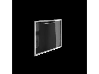 """LT-S4R (R) Стеклянная дверь, правая """"черный"""" (520х544х22 мм)"""
