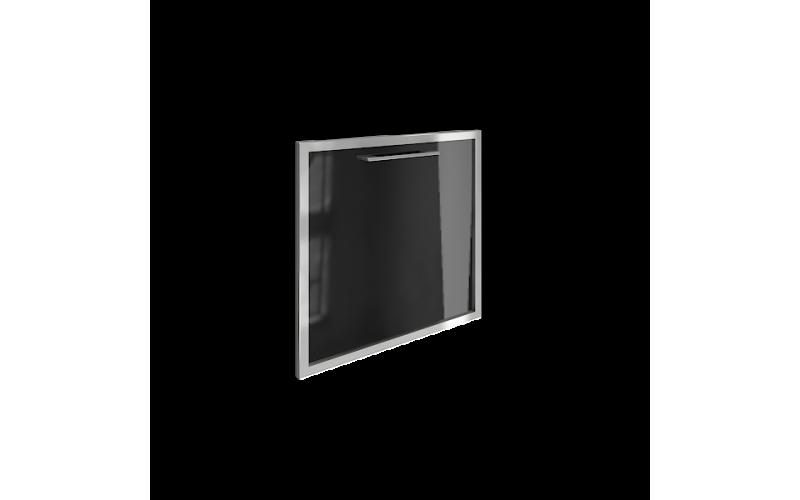 "LT-S4R (L) Стеклянная дверь, левая ""черный"" (520х544х22 мм)"