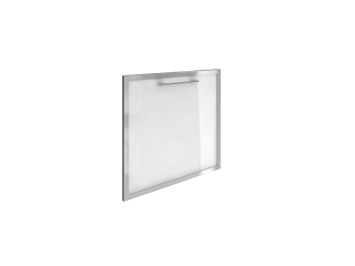 LT-S4R (L) Стеклянная дверь, левая (520х544х22 мм)