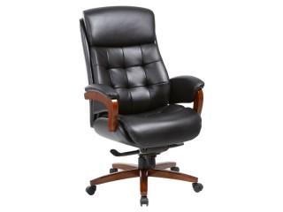 Кресло руководителя MEGA/BLACK
