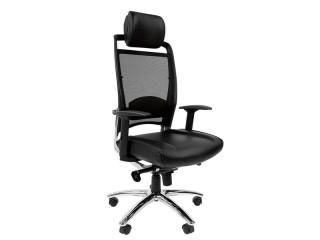 Кресло для руководителя CHAIRMAN 281 хром