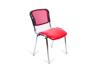 Офисный стул изо/хром, сетка