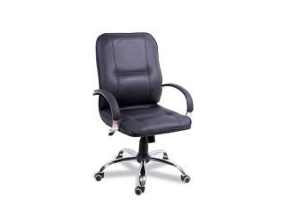 Конференц-кресло Филадельфия Хром Короткая