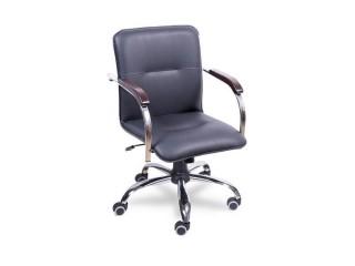 Офисный стул Самба на хромированной крестовине