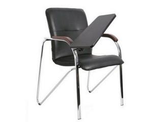 Офисный стул Самба хром с пюпитром
