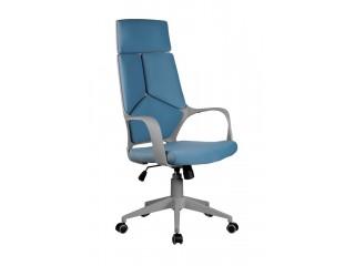Кресло для персонала 8989 серый пластик