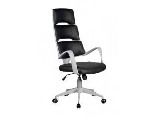 Кресло для персонала SAKURA серый пластик