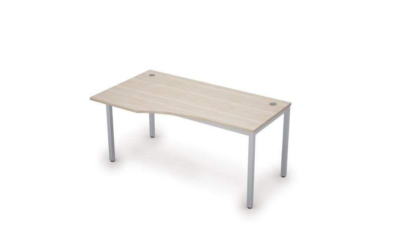 6М.020 Эргономичный стол левый (1600х900х750 мм)