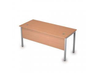 2МД.104 Столы на металлических опорах, экран ЛДСП (1600х700х750)