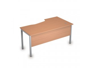 2МД.120(лев) Столы на металлических опорах, экран ЛДСП (1600х900х750)