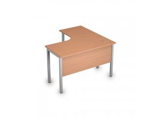 2МД.128(лев) Столы на металлических опорах, экран ЛДСП (1200х1200х750)