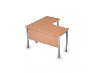 2МД.129(прав) Столы на металлических опорах, экран ЛДСП (1200х1200х750)