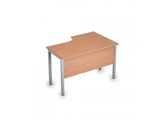2МД.141(лев) Столы на металлических опорах, экран ЛДСП (1200х800х750)