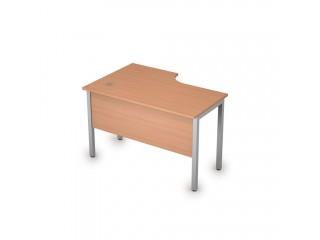 2МД.144(прав) Столы на металлических опорах, экран ЛДСП (1200х800х750)