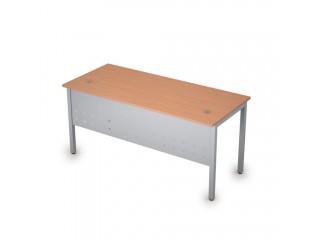 2МК.104 Столы на металлических опорах, экран металл (1600х700х750)