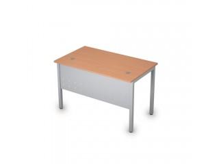 2МК.108 Столы на металлических опорах, экран металл (1200х700х750)