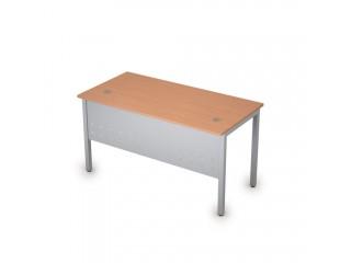 2МК.109 Столы на металлических опорах, экран металл (1400х700х750)