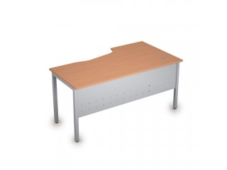 2МК.120(лев) Столы на металлических опорах, экран металл (1600х900х750)