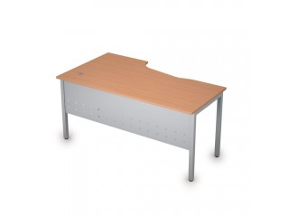2МК.121(прав) Столы на металлических опорах, экран металл (1600х900х750)