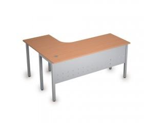 2МК.133(прав) Столы на металлических опорах, экран металл (1600х1200х750)