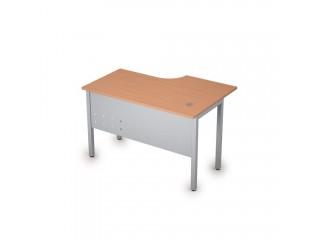 2МК.141(лев) Столы на металлических опорах, экран металл (1200х800х750)
