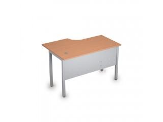 2МК.144(прав) Столы на металлических опорах, экран металл (1200х800х750)