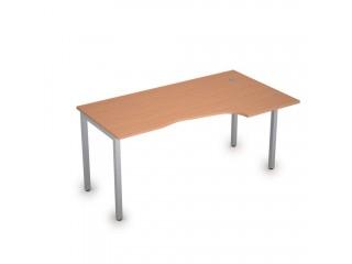 2М.121(прав) Столы на металлических опорах без экрана (1600х900х750)