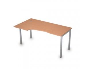 2М.120(лев) Столы на металлических опорах без экрана (1600х900х750)