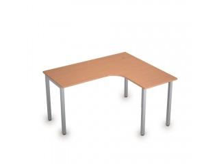 2М.131(прав) Столы на металлических опорах без экрана (1400х1200х750)
