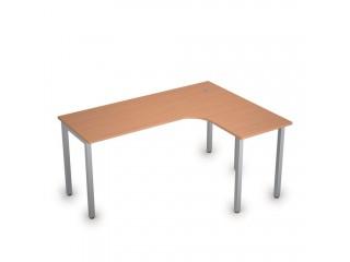 2М.133(прав) Столы на металлических опорах без экрана (1600х1200х750)