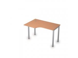 2М.141(лев) Столы на металлических опорах без экрана (1200х800х750)