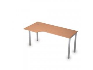 2М.143(лев) Столы на металлических опорах без экрана (1600х800х750)