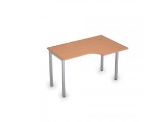 2М.144(прав) Столы на металлических опорах без экрана (1200х800х750)