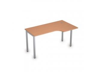 2М.145(прав) Столы на металлических опорах без экрана (1400х800х750)
