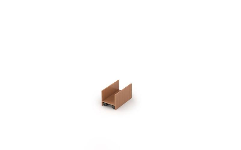 2Т.010 Подставка под системный блок (264х450х250 мм)