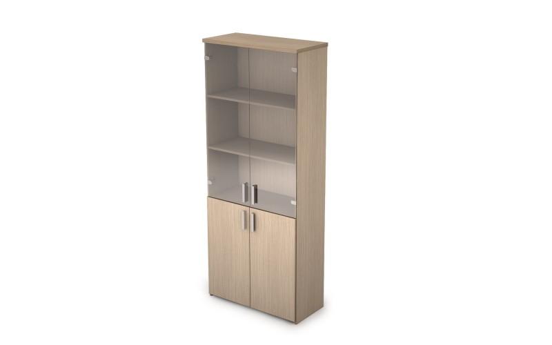 2Ш.005.3 Шкаф закрытый, комбинированный (790х370х1960 мм)