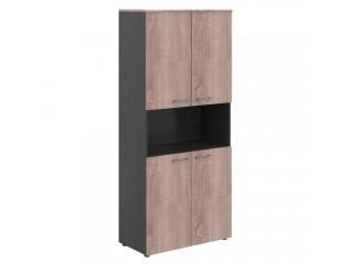 Шкаф с 2-мя комплектами дверей и топом WHC 85.4 (850х410х1930)