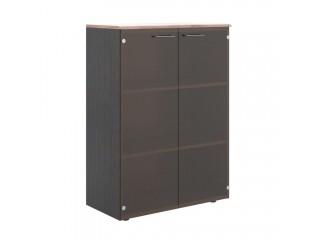 Шкаф со стеклянными дверьми и топом WMC 85.2 (850х410х1165)
