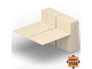 2TPG168T112 Приставной стол со шкафами Tower (2000х1650х720 мм)