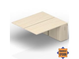 2TPM168N072 Приставной стол на тумбах (2000х1650х720 мм)
