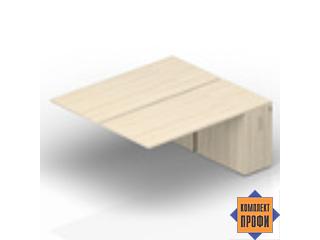 2TPS128T072 Составной стол с приставными шкафами Tower (1600х1650х720 мм)