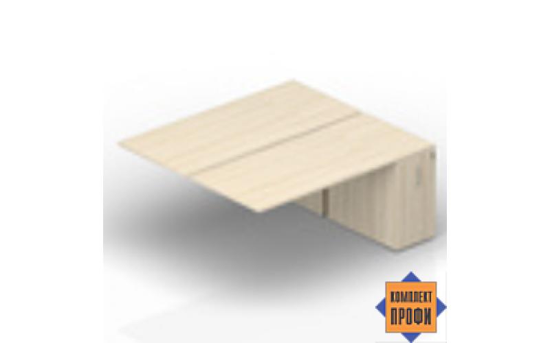 2TPS148T072 Составной стол с приставными шкафами Tower (1800х1650х720 мм)