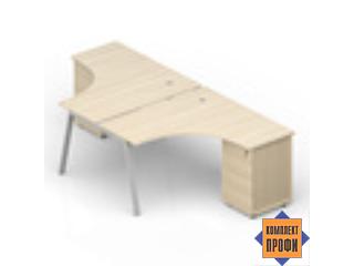 AR2TG1414 Составной стол (1400х2850х720 мм)
