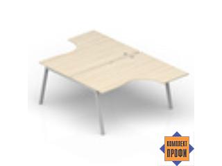 AR2TG169 Стол составной, эргономичный (1600х1850х720 мм)