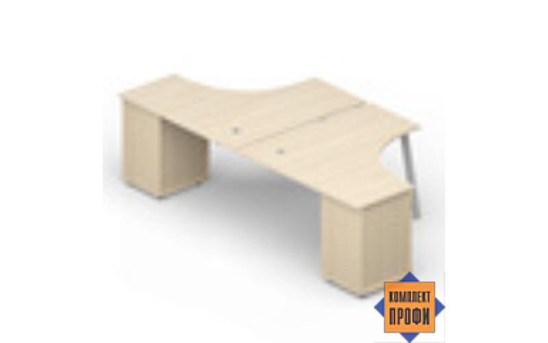 AR2TPG1414 Составной стол, приставной (1400х2850х720 мм)