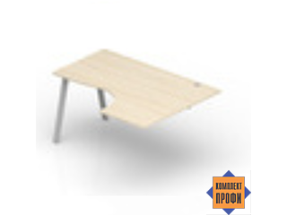 ARG1612D Стол криволинейный, правый (1600х1200х720 мм)