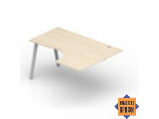 ARPG149D Приставной стол эргономичный, правый (1400х900х720 мм)